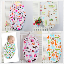Baby Swaddling Blankets Newborn Infant 100% Towel Wrap Soft Flannel Parisarc Envelope Double Layer Cotton Swaddle