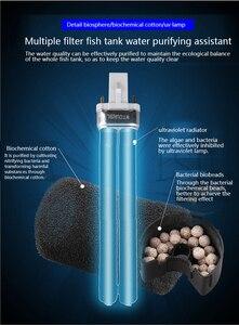 Image 3 - Sunsun GRECH аквариум ультрафиолетовый УФ фильтр бактериальные водоросли убийца лампа чашка 803 805 807 809