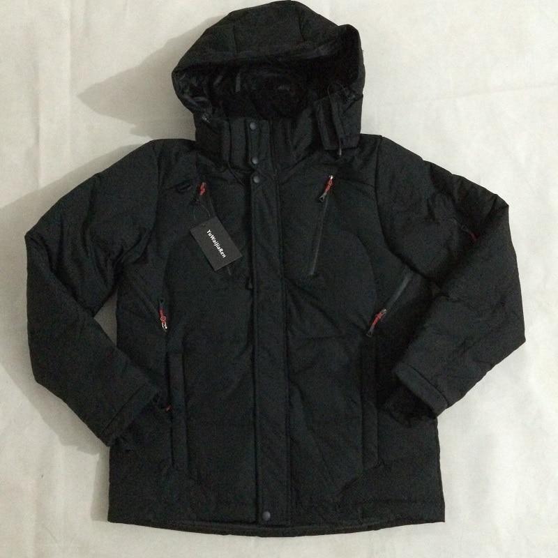 YuWaiJiaRen 2017 New Arrival Top Quality Warm Men's Jackets Windproof Casual Outerwear Coats Men Winter Parkas - 6