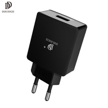 Quick Charge 3.0 USB Charger EU Plug QC3.0 Wall Mobile Phone Charger for Samsung S9 S8 Xiaomi Mi 8 iPhone Fast Charger