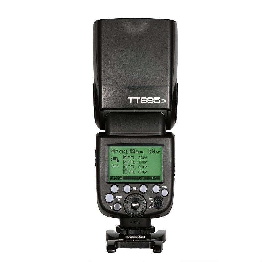 Godox TT685O Flash Speedlite TTL HSS High Speed Sync 1 8000s GN60 Speedlight for Olympus Panasonic