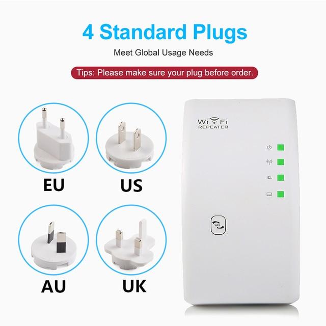 Répéteur WiFi sans fil 300Mbps amplificateur WiFi amplificateur WiFi longue portée de Signal Wi-Fi répéteur Wi-Fi 802.11N point d'accès 4