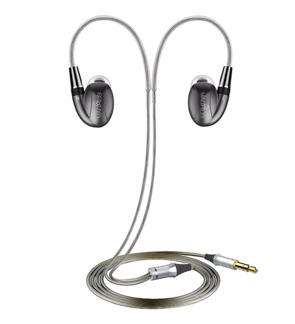Magaosi К3 про 2 сбалансированный арматура+динамический 1 2 БА+1DD гибрид ИЭМ Привет-Fi DJ музыка Аудиофилов в ухо наушник с интерфейсом MMCX