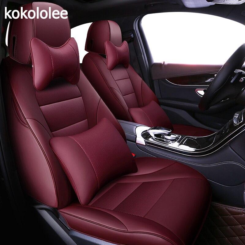 Kokololee personalizzato in vera pelle copertura di sede dell'automobile per lexus LS serie RX serie NX GS CT GX LX RC serie automobili Seat Coperture