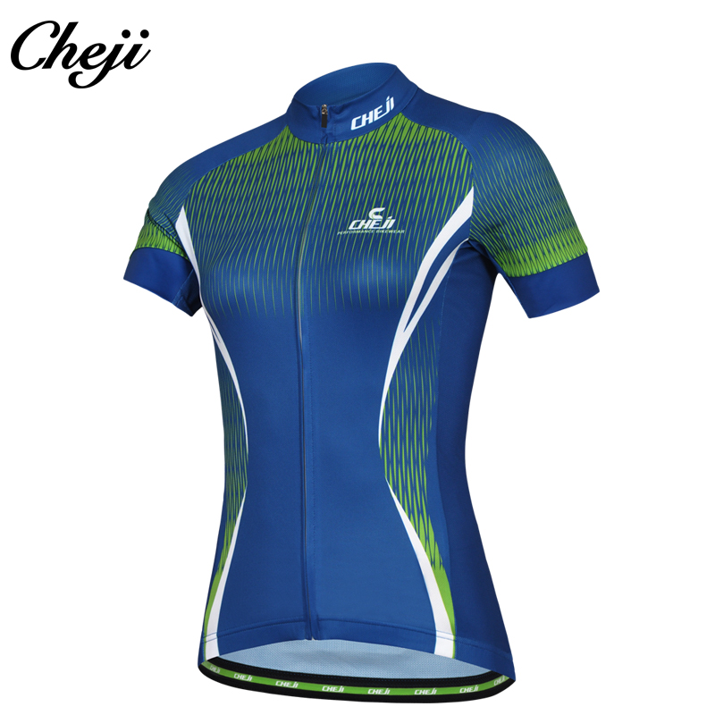 Cheji Girls Biking Jersey Quick Sleeves Breathable Multi Coloration Bike Shirt Women Wholesale Promotion Low cost Worth Bicycle Tops
