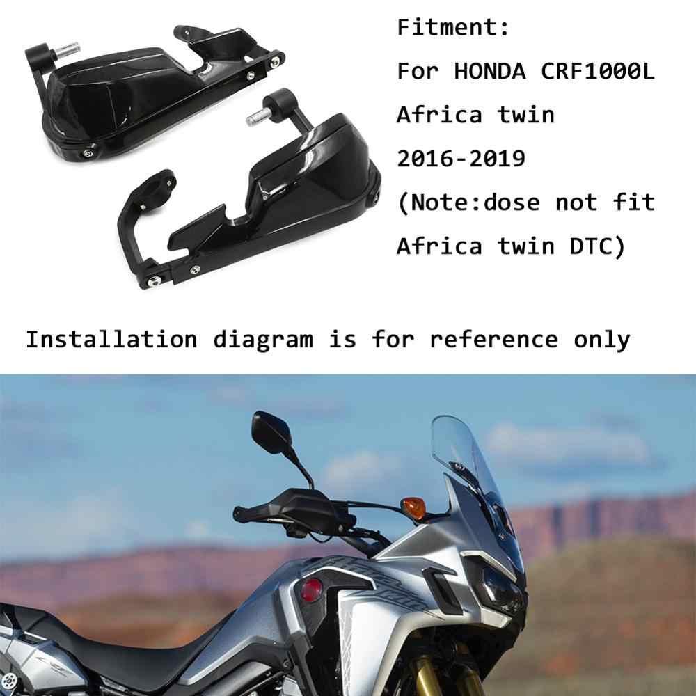 دراجة نارية لهوندا أفريقيا التوأم CRF1000L CRF 1000 L CRF1000 1000L 2016-2019 مقبض قفازات واقية لليد Handguard حاجز الرياح الزجاج الأمامي