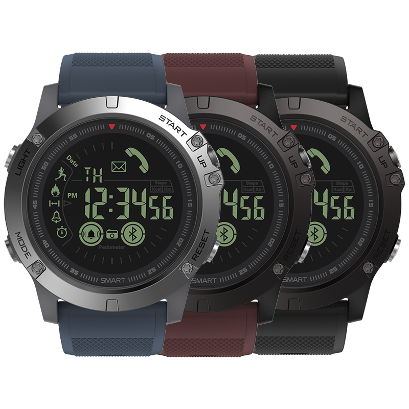 Zeblaze VIBE 3 Flagship Rugged Smart Watches 33-month Standby Time 24h All-Weather Monitoring Smart Watch For IOS And Android g6 tactical smartwatch
