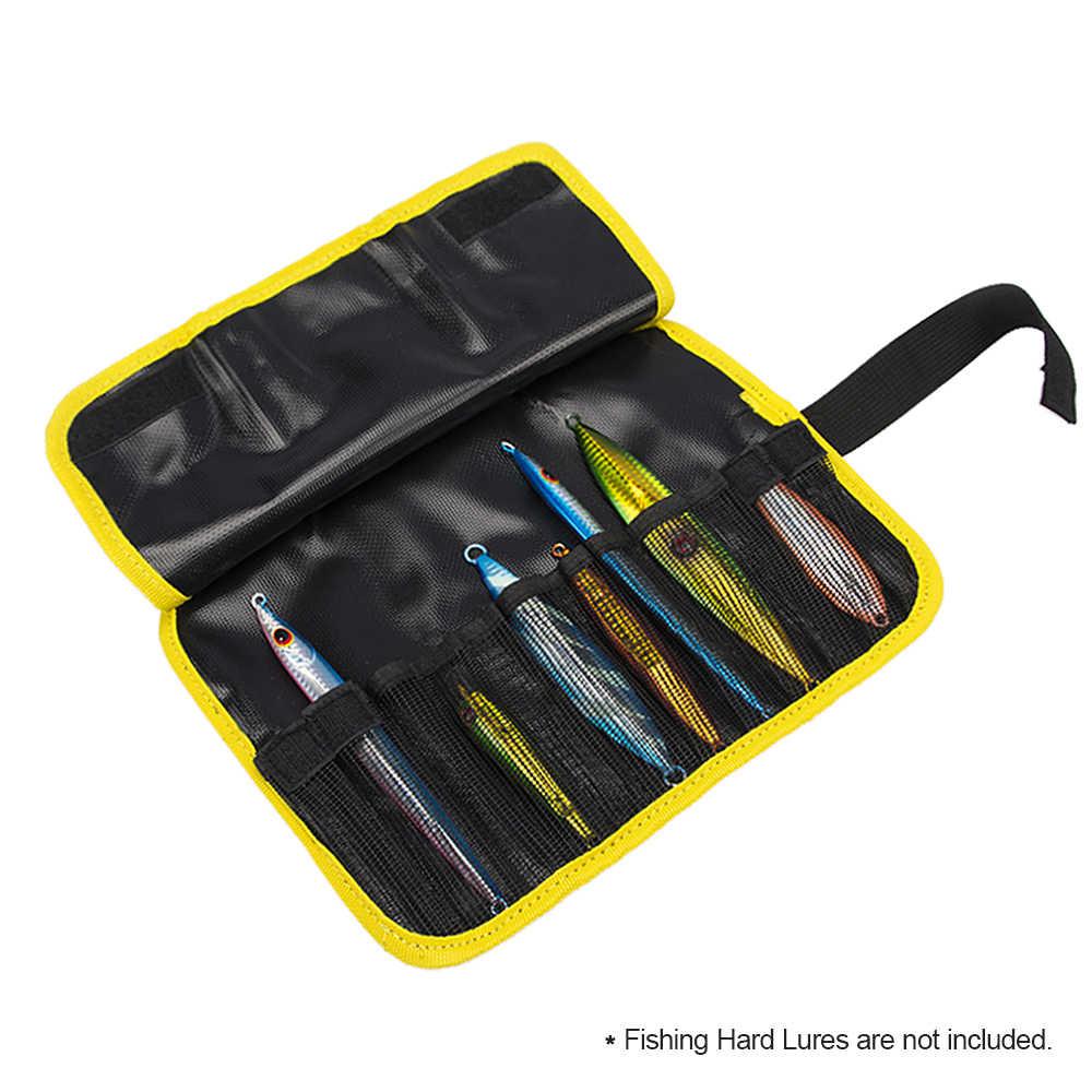 الصيد السحر حقيبة القفز حقيبة مقاومة للماء PVC حقيبة الصيد الطعوم أدوات اكسسوارات التخزين المنظم حقيبة