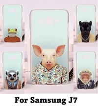 Hard Plastic and Soft TPU Phone Cover For Samsung Galaxy J7 2015 J700 Cases Phone Shell Made in High Quality Mobile Phone Cover