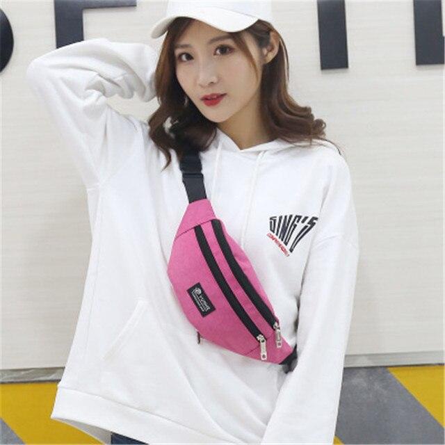 Disputent модная Женская Мужская поясная сумка цветная унисекс поясная сумка для мобильного телефона на молнии сумка на пояс