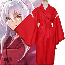 Anime InuYasha Cosplay Costumes Costume Kimono Uniform Halloween Carnival Party