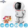 Robot cámara Wifi 960 P 1.3MP HD Cámara IP Inalámbrica Wi-fi Cámara de Visión nocturna Cámara de Red IP CCTV soporte bidireccional de audio hiseeu