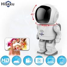 Робот камеры Wi-Fi 960 P 1,3-МЕГАПИКСЕЛЬНОЙ HD Беспроводная Ip-камера Wi-Fi Камера ночного Видения IP Сетевая Камера ВИДЕОНАБЛЮДЕНИЯ поддержка двусторонней аудио Hiseeu
