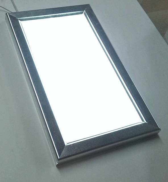 2016 New Design Super Bright Blank Aluminum Snap Frame A1
