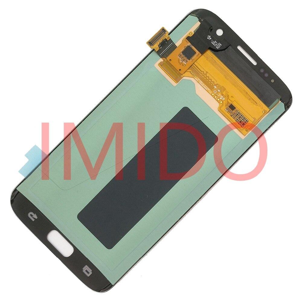 Pour Samsung Galaxy S7 BORD G935 G935F Super AMOLED Écran LCD + Écran Tactile Digitizer Assemblée Pièces De Rechange - 5