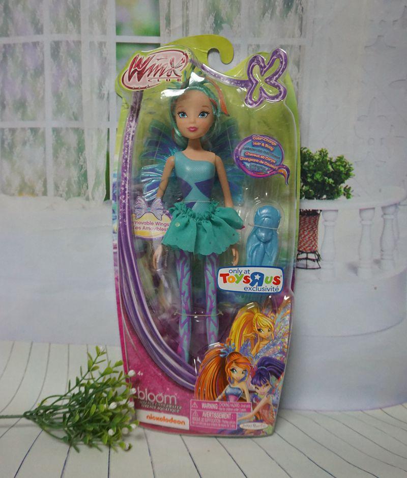 Newest Winx Club Doll rainbow colorful girl Action Figures Fairy Bloom Dolls Draculaura Frankie Stein Clawdeen Wolf