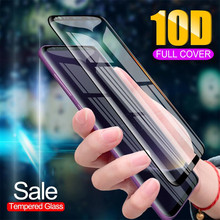10D Full Curved Tempered Glass For Samsung Galaxy S10 e S8 S9 Plus Screen Protec