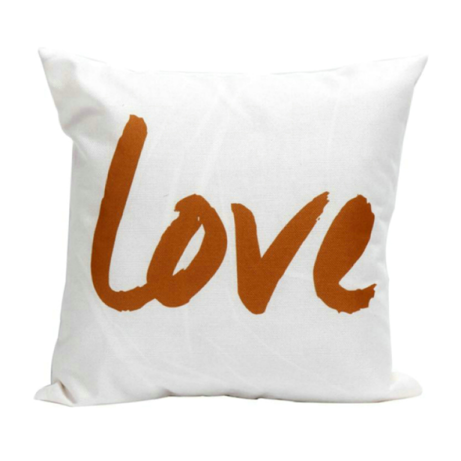 Ouneed Square High Qulity Linen Blend Pillow Cushion Cover for Home Office/Hotel/Car Use