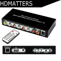 5.1 CH digital audio decoder converter DTS/AC3 digital audio decoder with USB media function