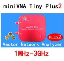 1 M 3 GHz Vector Network Analyzer miniVNA Tiny Plus2 VHF/UHF/NFC/RFID RF Antenne analysator Signal Generator SWR/S Parameter/Smith