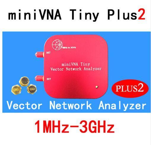 1 M 3 GHz ناقلات شبكة محلل miniVNA صغيرة Plus2 VHF/UHF/NFC/RFID RF هوائي محلل إشارة مولد SWR/S المعلمة/سميث
