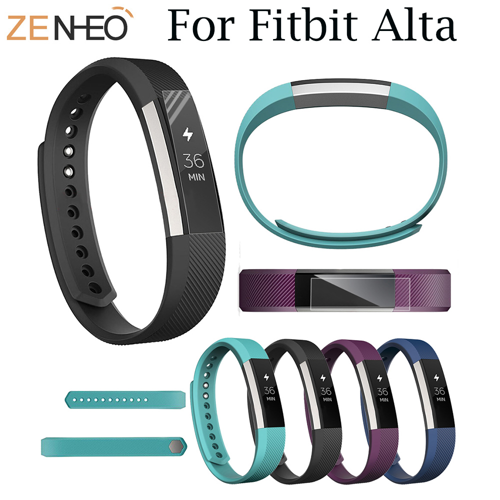 Silicone Watchband For Fitbit Alta High Quality Replacement Smart Bracelet Wrist Band Strap For Fitbit Alta HR Band Wristband