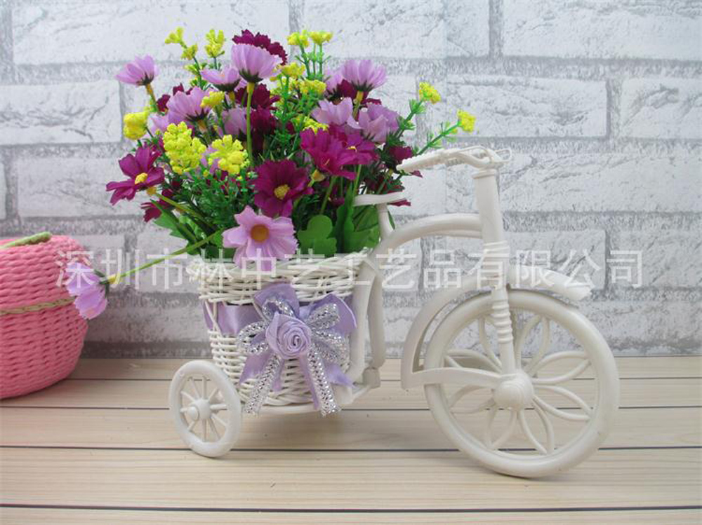 7 forks 28 heads artificial flower orchid chrysanthemum for Artificial hops decoration