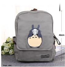 Горячая мультфильм Токио упыри рюкзак аниме Наруто Тоторо путешествия рюкзак компьютер dairly холст один кусок мешки маска