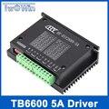 TB6600 0.2-5А ЧПУ контроллер, драйвер шагового двигателя nema 17,23, tb6600 Одной оси Двухфазный Гибридный шаговый двигатель для чпу