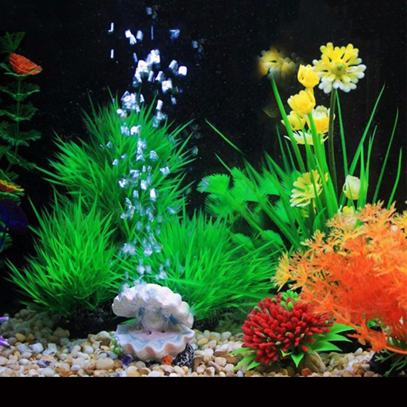 Pearl Shell Air Bubble Stone Fish Tank Decoration Aquarium Decor Air Stone Oxygen Pump Air Pump Bubbler Ornament