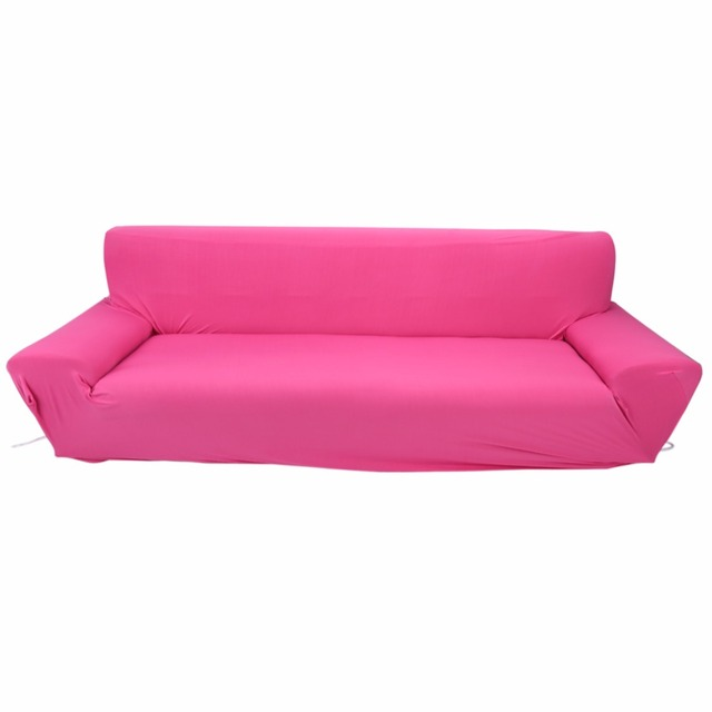 US $33.49 28% OFF|Elastic Sofa Cover Sofa Slipcover 4 Seater Full Stretch  Elastic Sofa Cover Couch Protective Slipcover 7 Solid Colors-in Sofa Cover  ...