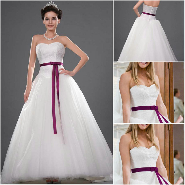 Hollywood Style Kate Hudson Wedding Dress Bridal Gown in Movie Sweep ...