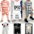 2015 New Nununu Cotton Duh letter Bodysuit For Baby Boys Girls Bobo Choses Toddler's Cute Bodysuit