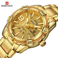 2017 New Arrival NAVIFORCE Brand Men Luxury Watch Men S Sport Watches 30M Waterproof Stainless Steel