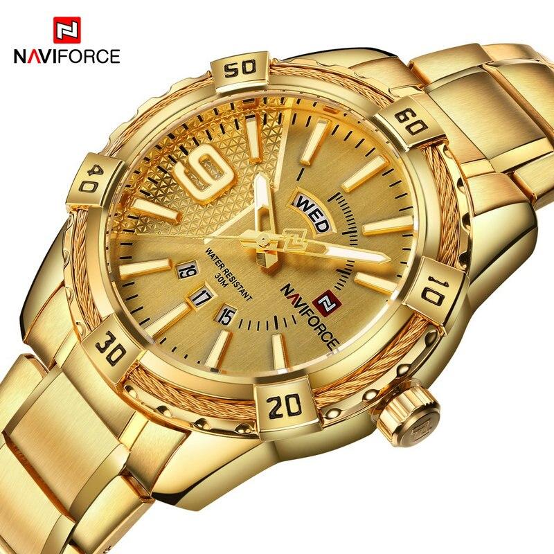 2017 New Arrival NAVIFORCE Brand Men Luxury Watch Men's Spor