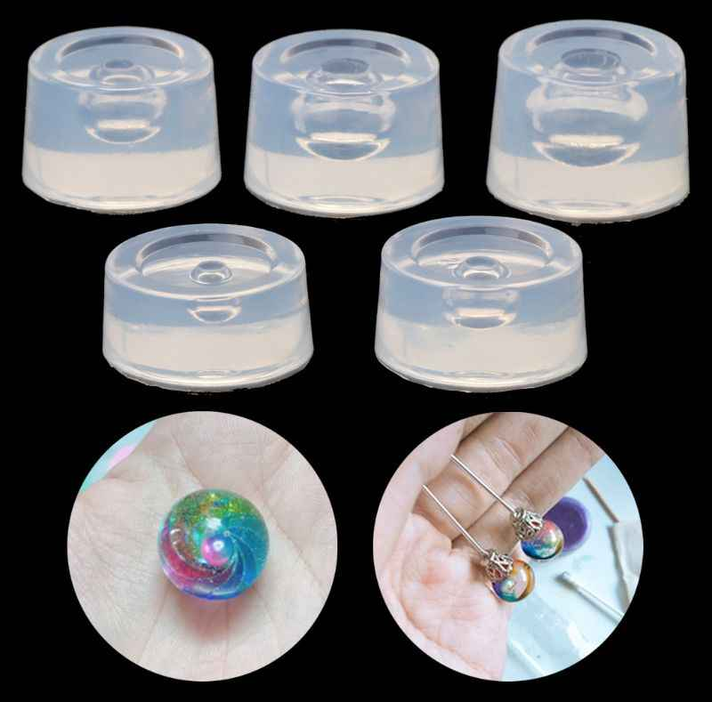 Transparent Silicone Mould Resin Universe Ball Epoxy Resin Molds Jewelry Making