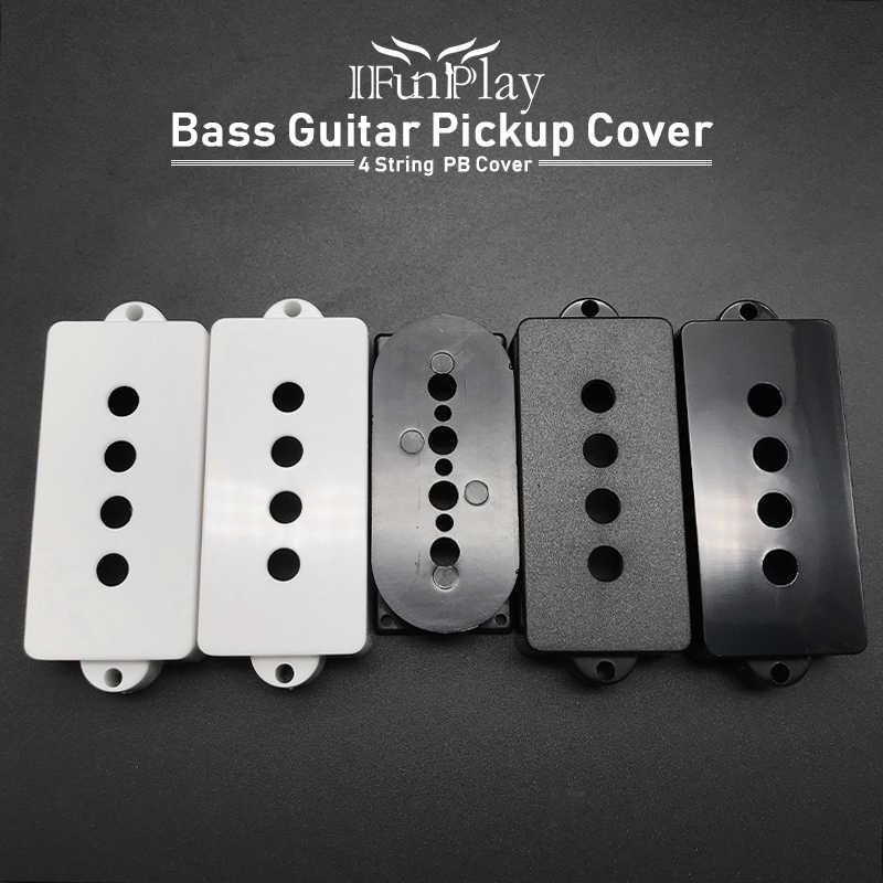 2pcs 4 String Bass กีตาร์รถกระบะฝาครอบ Matt/เรียบ PB เบสกีต้าร์รถกระบะฝาครอบ Bobbin Violao เปลี่ยนชิ้นส่วน