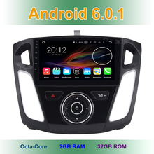 9″ 8 Octa Core Android 6.0.1 Car DVD Radio head unit for Ford Focus 3 2011 – 2017 with WiFi GPS 2GB RAM