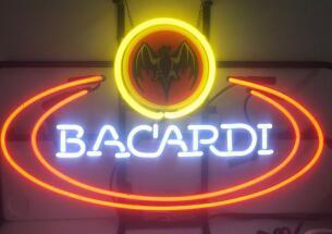 Custom BACARDI Neon Light Sign Beer Bar