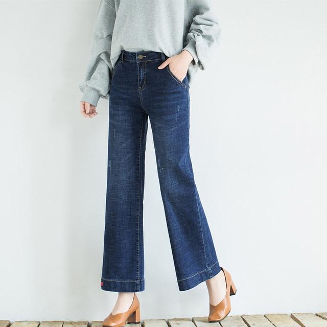 plus size wide leg vintage black capris jeans 7xl 8xl 9xl