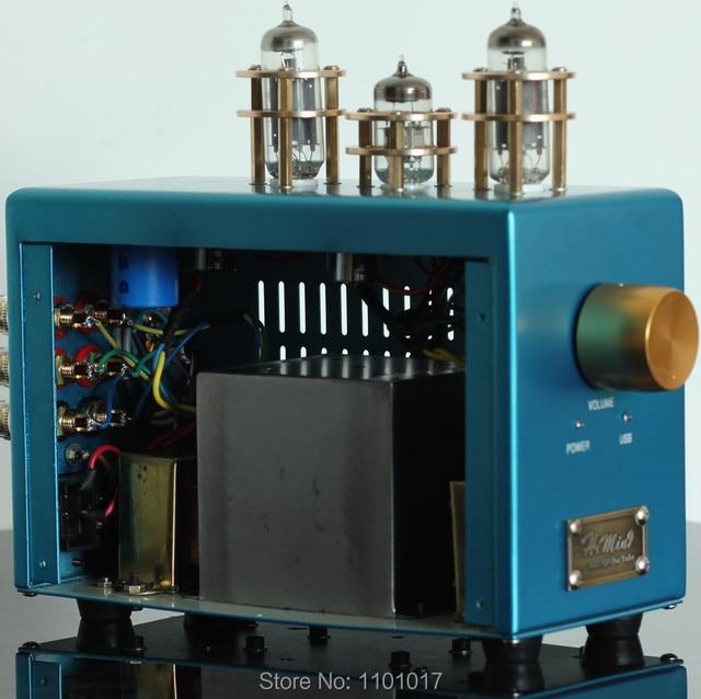 HIMING Rivals 6p1 Tube Amplifier HIFI EXQUIS USB decoder amps special for desktop use Laptop PC RH6P1PC