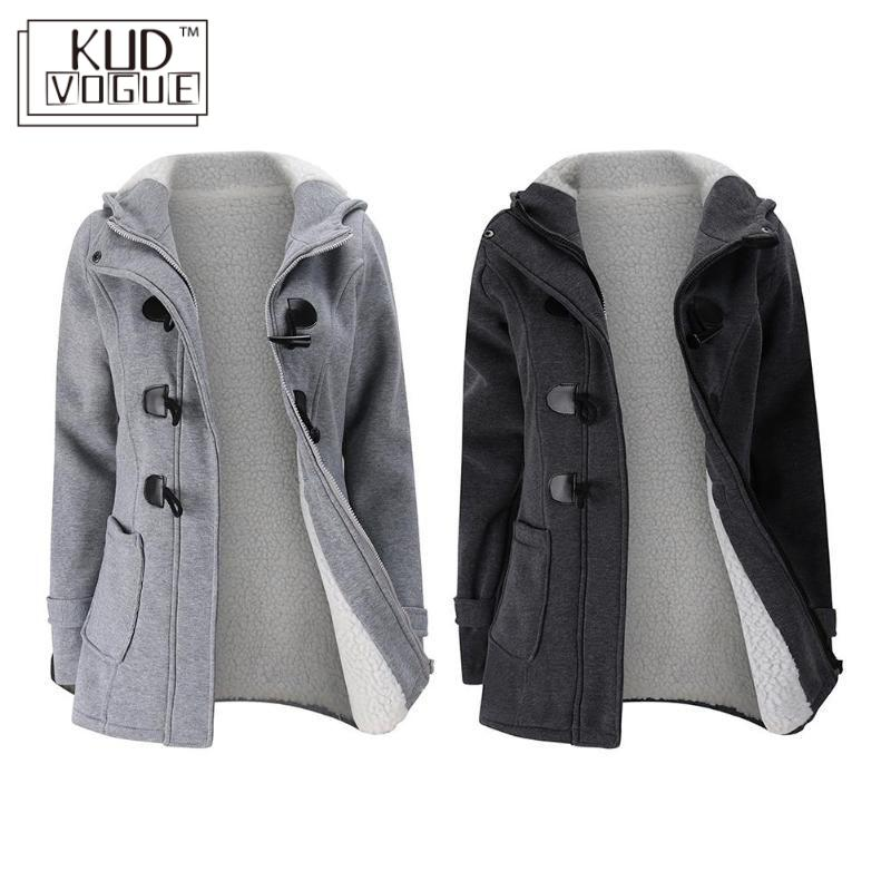 Hooded Winter   Parka   Plus Size Women Thick Girl Snow Coat Cotton Jacket Fashion Long Overcoat Streetwear Female Solid Ladies Tops