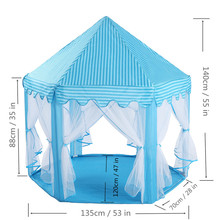 Kids Ocean Ball Pit Pool Toys Outdoor and Indoor Baby Toy Tents Girls Fairy House Play hut Tent Princess