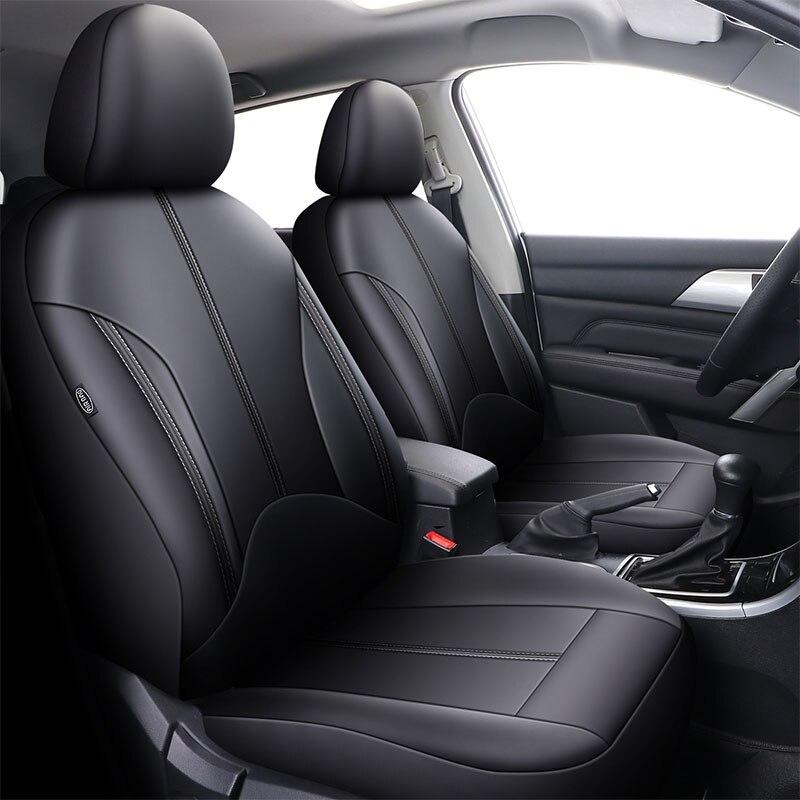 Coche 2x Frontal cubiertas de asiento Protector Para Mercedes Clase C C 180