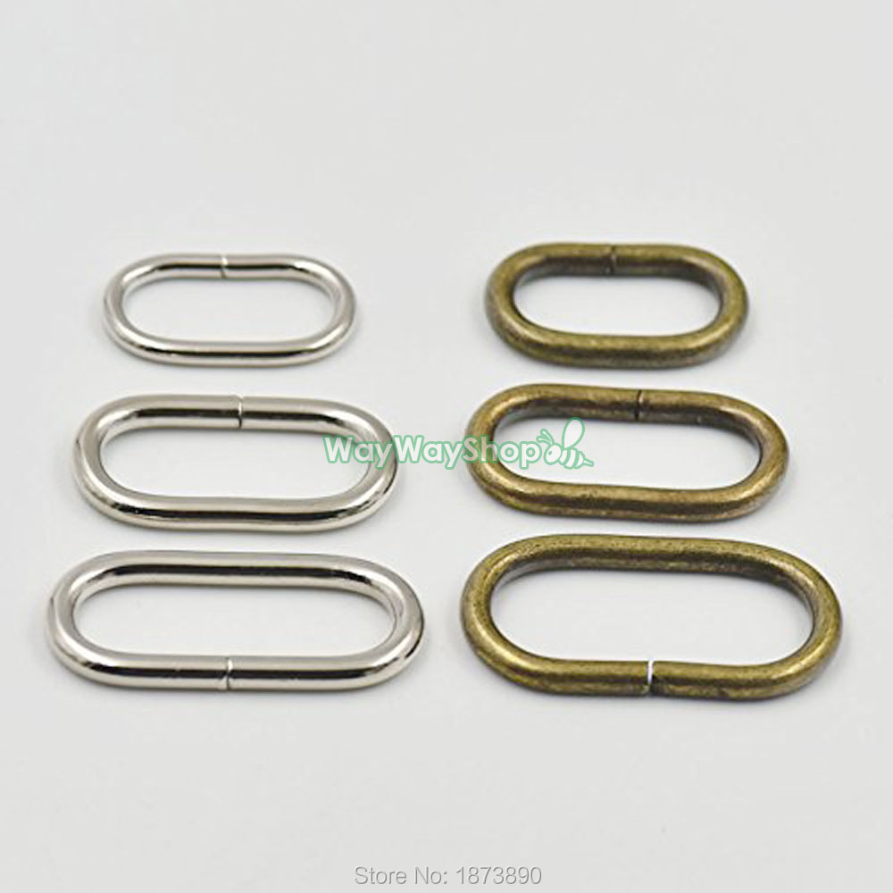 Aliexpress.com : Buy 25 Pcs 38mm 32mm 25mm Loop Oval Ring