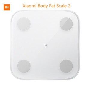 Image 1 - Original Xiaomi Smart Body Fat mi Scale 2 Digital Bathroom Weight Scales Floor Electronic mi Body Composition Scale