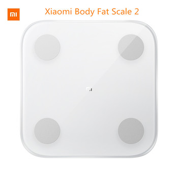 Original Xiaomi Smart Body Fat mi Scale 2 Digital Bathroom Weight Scales Floor Electronic mi Body Composition Scale