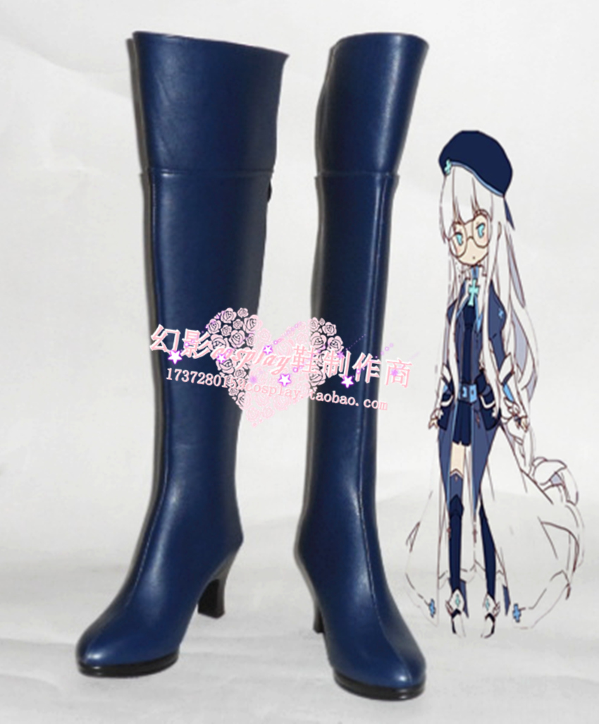 Full time master AnWenYi cosplay Shoes Boots Custom-Made
