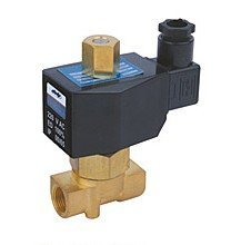 Free Shipping 5PCS 1/4'' DC 24V 2 Way Female Thread Water Flush Solenoid Valve DIN Connector фото