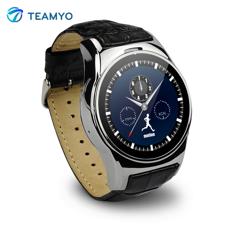 ФОТО Luxury Smart Watch M10 Heart Rate Sync Message Support Sim Card For IOS Samsung HTC Huawei Android MTK2502c Smartwatch